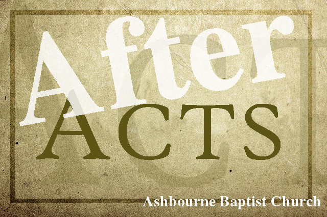 After Acts Sermon Series Cover
