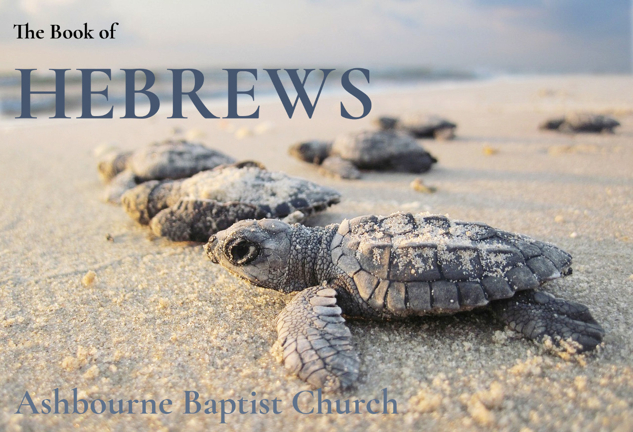 Hebrews Sermon Series Cover